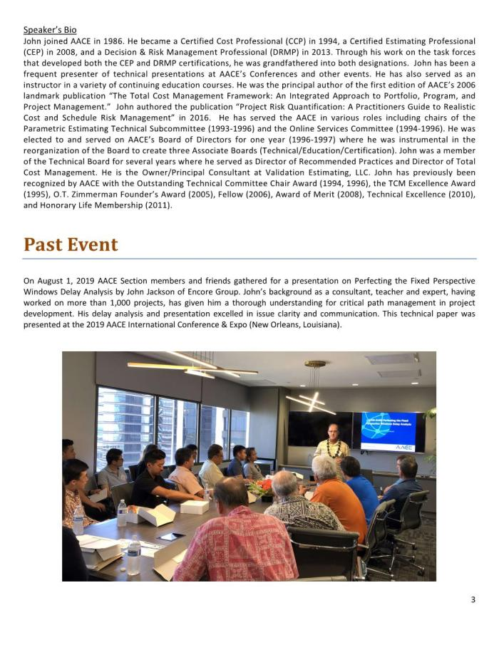 AACE HI Newsletter 2019-11 Autumn Page 003