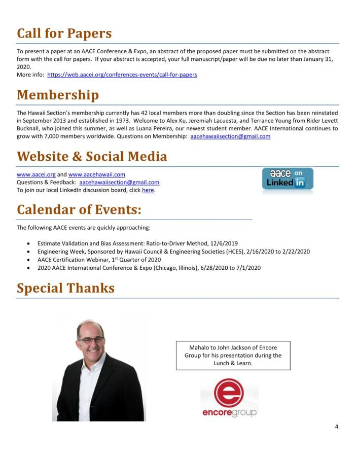 AACE HI Newsletter 2019-11 Autumn Page 004